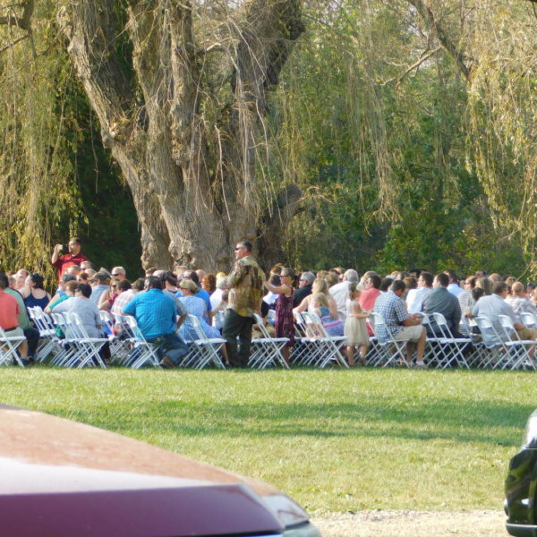 Willow field ceremony